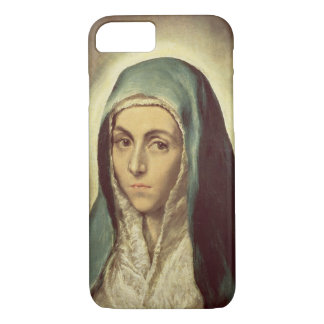 The Virgin Mourning (oil on canvas) iPhone 7 Case