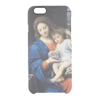 The Virgin of the Grapes, 1640-50 Clear iPhone 6/6S Case