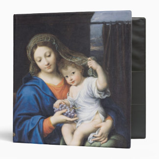 The Virgin of the Grapes, 1640-50 Vinyl Binder