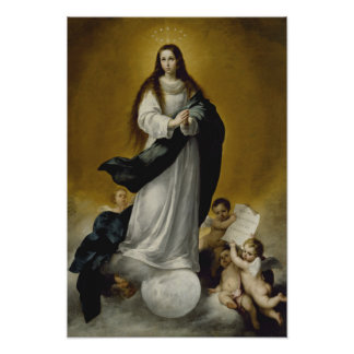 The Virgin of the Immaculate Conception Poster