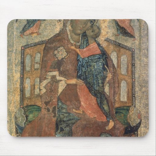 The Virgin of the Tolg, Yaroslavl School Mousepads