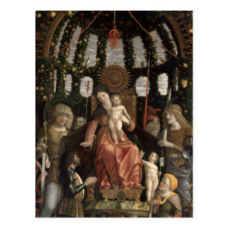 The Virgin of Victory or The Madonna and Child Postcard
