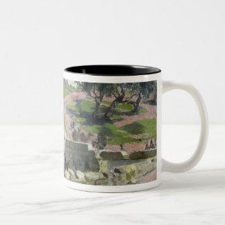 The Virgin Spring in Nazareth, 1882 Two-Tone Coffee Mug