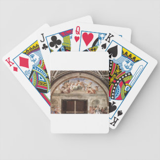 The Virtues by Raphael Bicycle Poker Cards