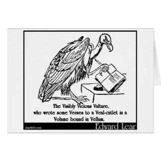 The Visibly Vicious Vulture Greeting Card