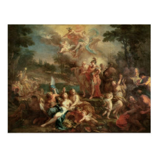 The Vision of Aeneas in the Elysian Fields Postcard
