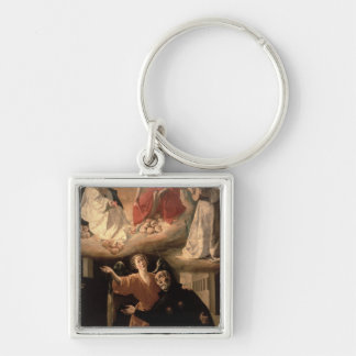 The Vision of St. Alphonsus Rodriguez Keychain