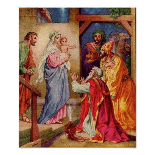 The Visit of the Wise Men Poster