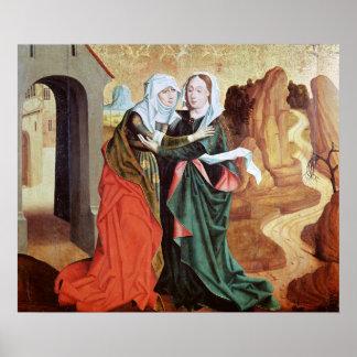 The Visitation, c.1460 Poster