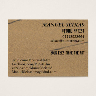 The Visual Artist Business Card