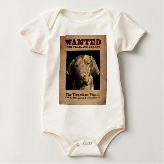 The Vivacious Vizsla Baby Bodysuit