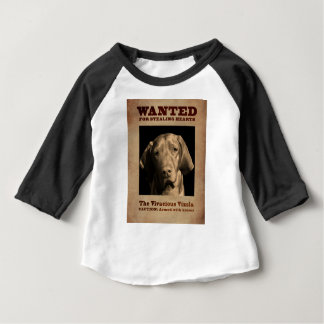 The Vivacious Vizsla Baby T-Shirt