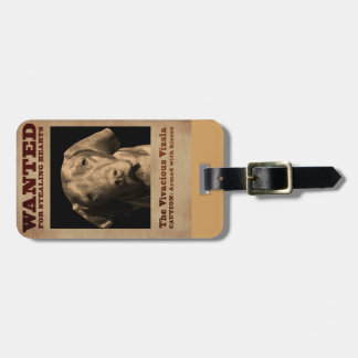 The Vivacious Vizsla Luggage Tag