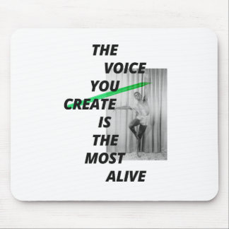 The voice in your head is the most alive mouse pad