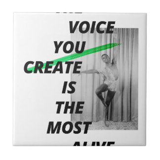 The voice in your head is the most alive tiles