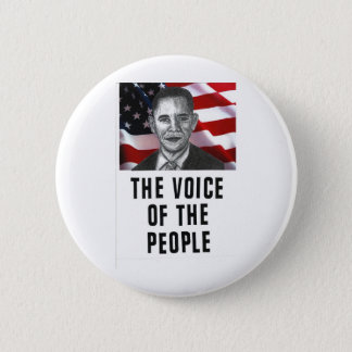 The Voice Of The People 2 Inch Round Button