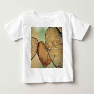 The Voice Of Your Heart Whispers To My Soul Baby T-Shirt
