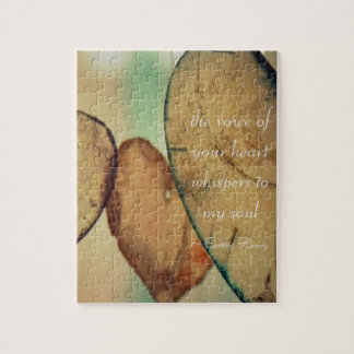 The Voice Of Your Heart Whispers To My Soul Jigsaw Puzzle