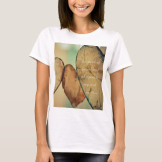 The Voice Of Your Heart Whispers To My Soul T-Shirt