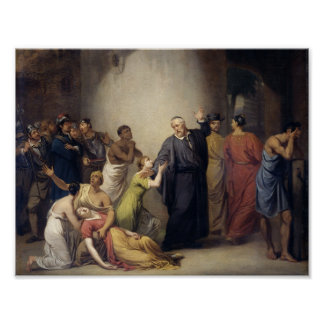 The Voluntary Sacrifice of Reverend Hambroeck on T Poster