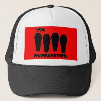 The Von Frankensteins - Coffin Logo Trucker Hat