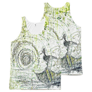The Vortex All-Over-Print Tank Top