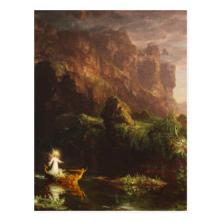 The Voyage of Life: Childhood - Thomas Cole Postcard