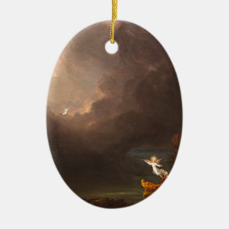 The Voyage of Life Old Age Thomas Cole 1842 Ceramic Ornament