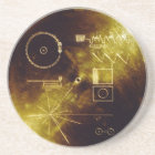 The Voyager Golden Record Coaster