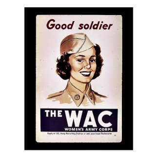 The Wac Womens Army Corps Postcard