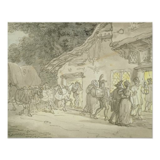 The Waggoner's Rest, c.1800-05 (pen & ink and w/c Posters
