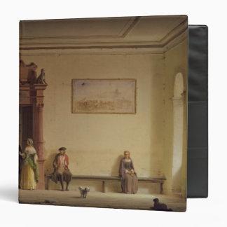 The Waiting Room, 1857 3 Ring Binders