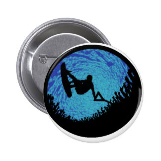 THE WAKEBOARDING ONE 2 INCH ROUND BUTTON