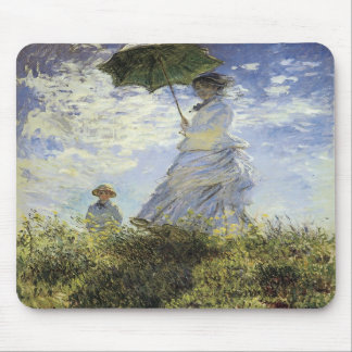 The Walk, Lady with a Parasol Mouse Pads