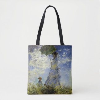 The Walk, Lady with a Parasol Tote Bag