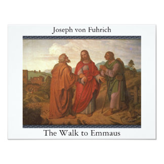 "The Walk to Emmaus 4.25"" X 5.5"" Invitation Card"