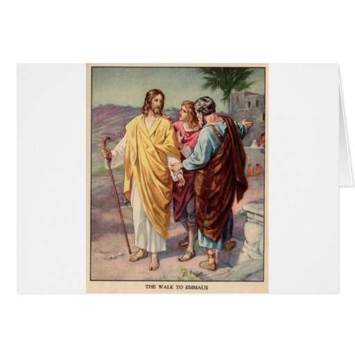 The walk to emmaus cards