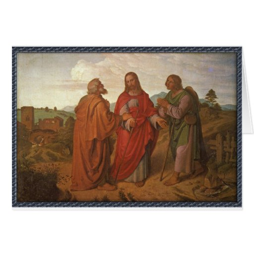 The Walk to Emmaus Greeting Cards