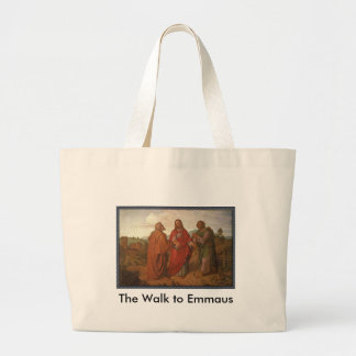 The Walk to Emmaus Grocery Tote Bag