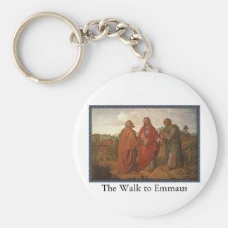 The Walk to Emmaus Keychain