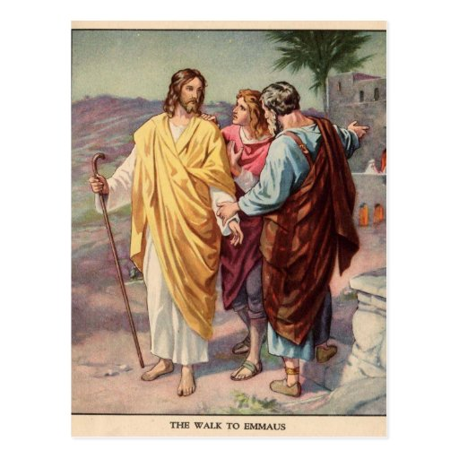 The walk to emmaus post cards
