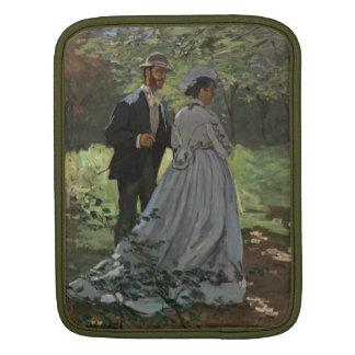 The Walkers - Claude Monet iPad Sleeve