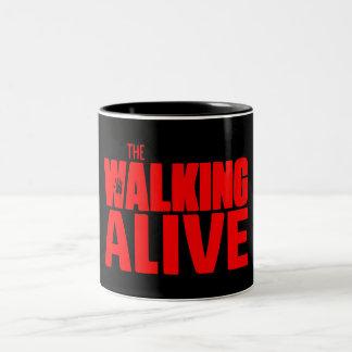 The Walking Alive Two-Tone Coffee Mug