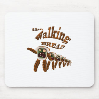 the walking bread mouse pad