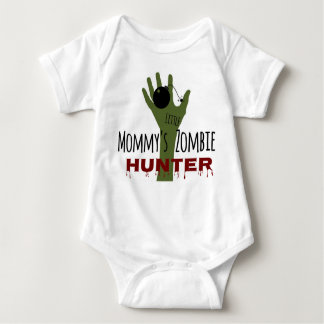The Walking Dead Baby Mommy's Little Zombie Hunter Baby Bodysuit