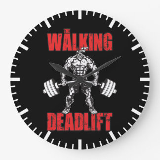 The Walking Deadlift - Zombie Workout Clock