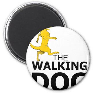 The walking dog 2 inch round magnet