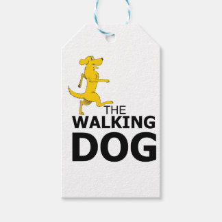 The walking dog gift tags