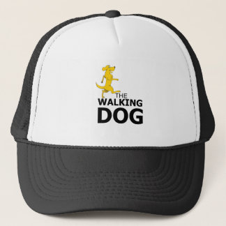 The walking dog trucker hat