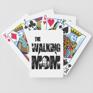 The Walking Mom Bicycle Playing Cards